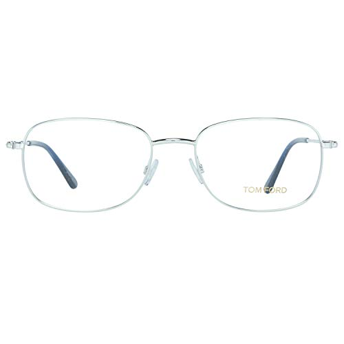 Tom Ford Herren Brille FT5501 016 54 Brillengestelle, Silber,