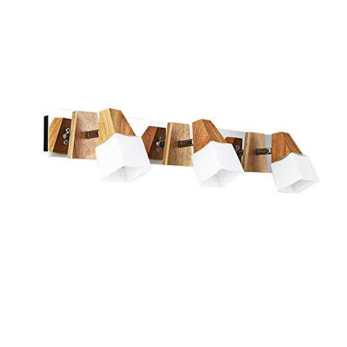 Preisvergleich Produktbild BOSSLV Badspiegel Lampen Lampen Lichter Scheinwerfer Beleuchtung Spiegel Frontleuchten Einfache Badezimmerleuchten Dressing Woody Spiegel Kabinett Lichter