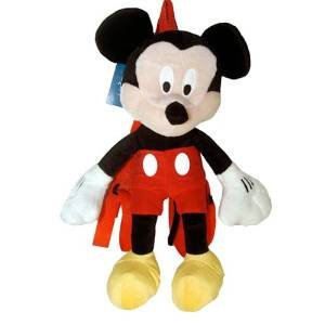 Click for larger image of BUYSEASONS Disney Mickey Mouse Plush Backpack