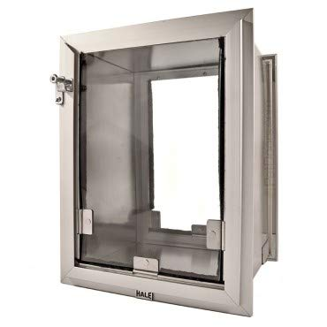 Hale Haustiertür-Modell extra Einzelklappe, Medium (8 1/2