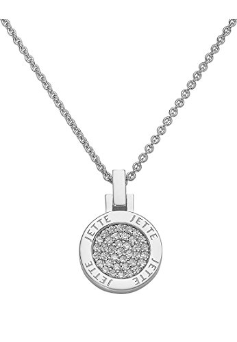JETTE Silver Damen-Collier ALWAYS MINI 925er Silber 37 Zirkonia silber, One Size