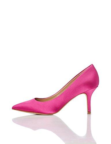 find. Escarpins en Satin Femme, Rose (Hot Pink), 41 EU