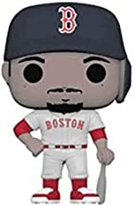 Funko- Pop Vinilo: MLB: Mookie Betts (New Jersey) Figura Coleccionable, Multicolor (37992)