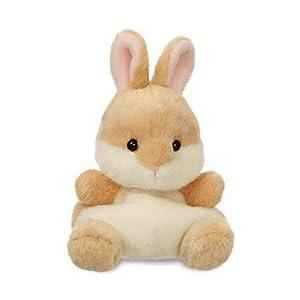 Aurora Palm Pets, Ella el Conejo Suave Juguete, 61244, 5 Pulgadas, Beige