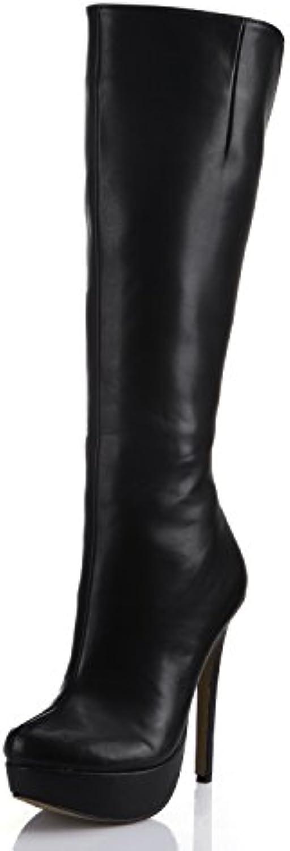 L alta qualità e avvia il nuovo Finto cuoio nero impermeabile Taiwan a tacco alto scarpe, OL femmina nero | Acquisti  | Uomini/Donne Scarpa