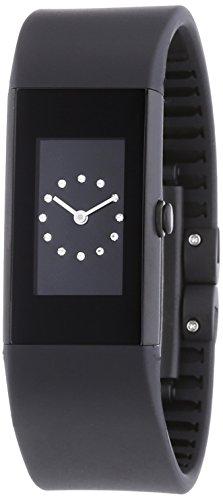 Rosendahl - 43187 - Montre Femme - Quartz Analogique - Bracelet Plastique Noir