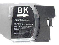 1 kompatible schwarze Patrone für Brother DCP und MFC Serie