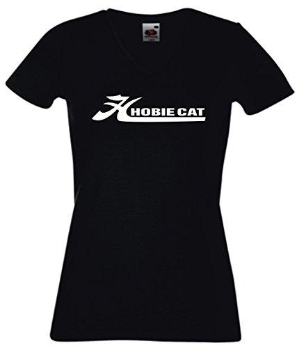 t-shirt-damen-v-ausschnitt-schwarz-hobie-cat-s