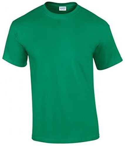 Gildan Ultra Cotton Men's Shirt Short Sleeve T Mehrfarbig - Kelly