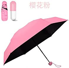 Ksdysa Compny New Stylish Capsule Umbrella for Girls & Boys Pink