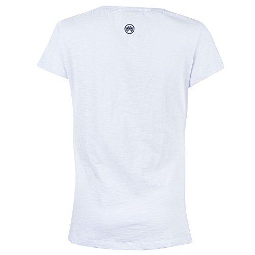 Urban Beach Damen Burning Man Dream T-Shirt weiß