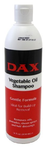 Dax Shampoo Vegetable Oil 355 ml (Case of 6) Gentle Formula