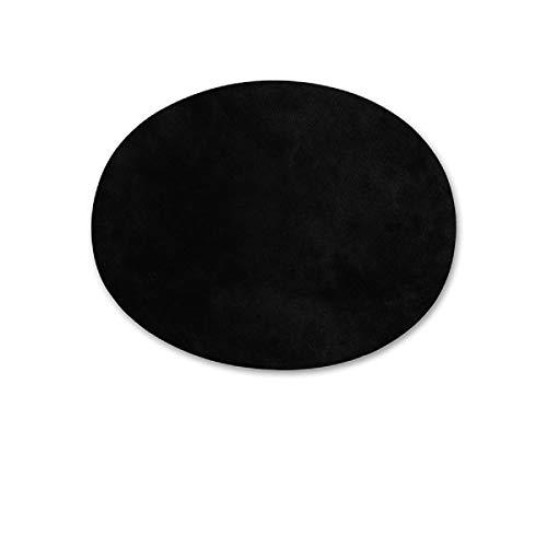Yalulu 10 Stück Wildleder Stoff Bügelpatch Reparatur Patch Tuch Selbstklebend Patches Reparaturflicken Für Pullover, Schuhe, Hüte, Taschen und DIY handgemacht (#1 Schwarz)