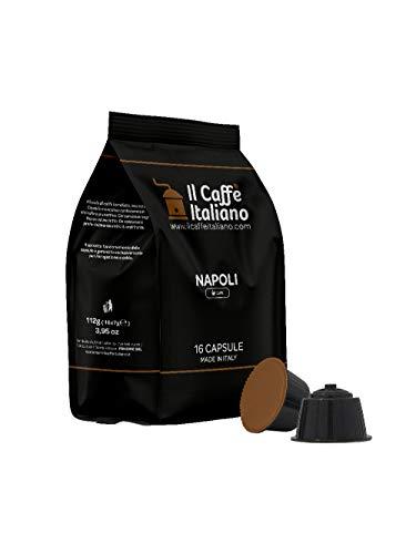 FRHOME - Nescafè Dolce Gusto 96 Càpsulas compatibles - Il Caffè Italiano - Mezcla Napoli...