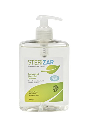 SteriZar Senza Alcool Antibatterico Mano Gel Disinfettante - 500ml