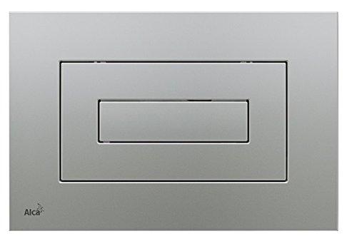 WC Vorwandelement für Trockenbau 100 cm inklusive Betätigungsplatte Chrom Matt Typ Cube Unterputzspülkasten Spülkasten Wand WC hängend Schallschutz