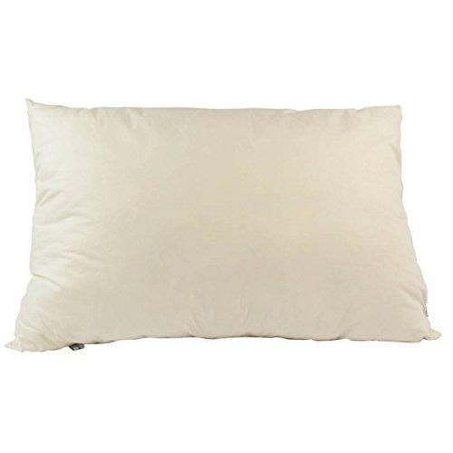 4betterdays Zirben-Schlafkissen 40 x 60 cm 100% Zirbenholzflocken 100% Bezug aus Baumwolle Beruhigung Entspannung und Hilfe bei Kopfschmerzen Handarbeit aus Tirol