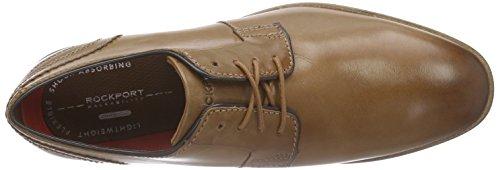 Rockport Bl Blutcher, Chaussures Lacées Homme Marron (Tan)