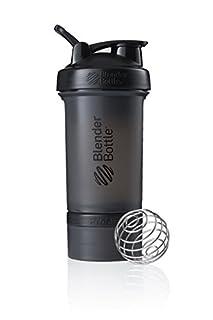 BlenderBottle ProStak Shaker | Protein Shaker| Fitness Shaker | BPA frei | mit BlenderBall | inkl. 2 Containern 150ml & 100ml +1 Pillenfach | 650ml - Schwarz (B01LXRWZNI) | Amazon Products