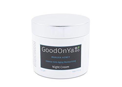 Natürliche Nachtcreme -Bio Creme -Natürlich, Anti-Falten, Anti Aging, Feuchtigkeitsspendend (120...