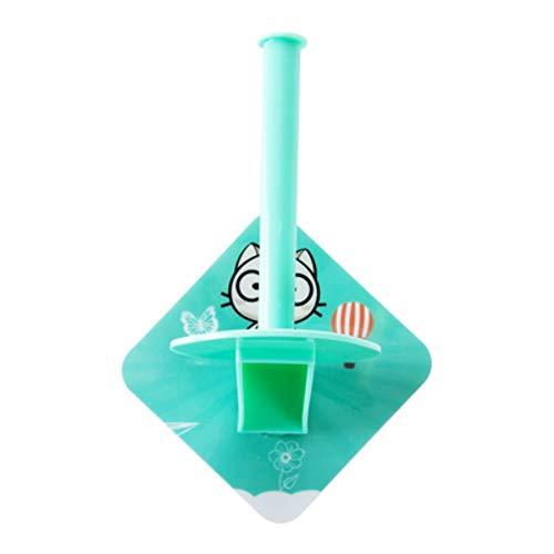 HDOUBR Fügen Sie freie Lochung Papierrollenhalter Toilettenpapierhalter kreative Küche vertikale Papierhandtuchhalter Papierhandtuchhalter EIN (Vertikale Lochung)