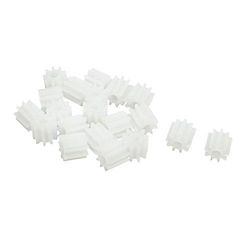 sourcingmap-20pcs-55mmx2mm-engranaje-de-plastico-9-diente-por-eje-de-la-caja-del-motor-modelo-de-coc
