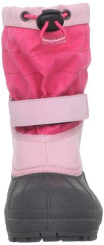 Columbia Childrens Powderbug Plus Ii Unisex-Kinder Warm gefütterte Schneestiefel Pink (Satin Pink, Afterglow 952)