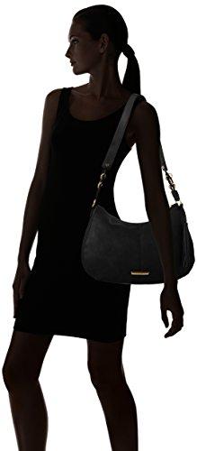 Dorothy Perkins - Crescent, Borse a Tracolla Donna Black (Black)
