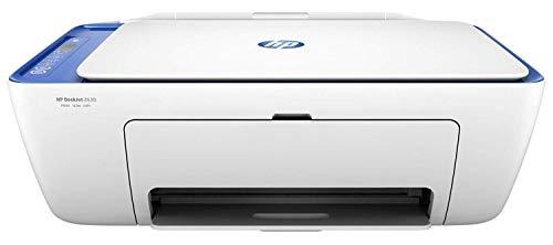 HP Deskjet 2630 - Impresora Multifunción Inalámbrica (Tinta, Wi-Fi, Copiar, Escanear, 600 x 300 PPP, Incluido 2 Meses de HP Instant Ink) Color Blanco y Azul