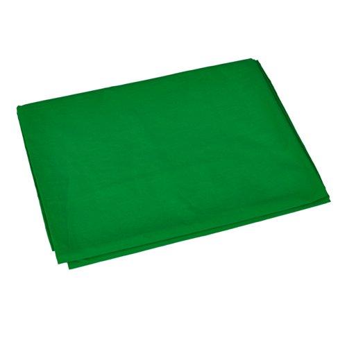 Neewer® 6 x 9FT / 1,8 x 2,8 M Fotostudio 100% reines Muslin Faltbare Hintergrund-Hintergrund für Fotografie, Video und Fernsehen (Grün) (Digitale Fotografie Hintergrund)