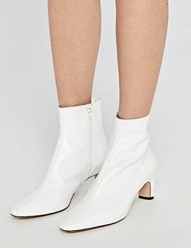 FIND Stiefeletten mit Hohem Schaft Weiß (White 010)