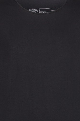 Petrol Industries Herren Oberteile / T-Shirt odyfit Basic 2 Pack Schwarz