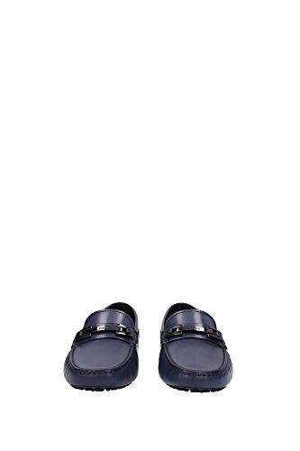 XXM0EON653D9CU817 Tod's Mocassini Uomo Pelle Blu Blu