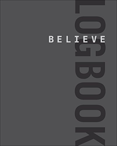 Believe-Logbook-Believe-Training-Journal