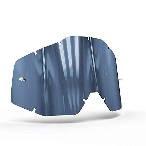 OnyxLenses 100%   Racecraft/Accuri/Strata w/Pins Sapphire Blau Polarisiert Ersatzscheibe