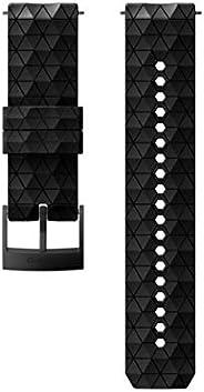 SUUNTO EXP2 SILICONE STRAP BLACK/BLACK M