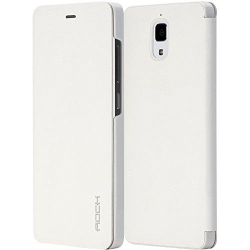 Xiaomi MI4 Rock Uni Series Smart Leather Case White