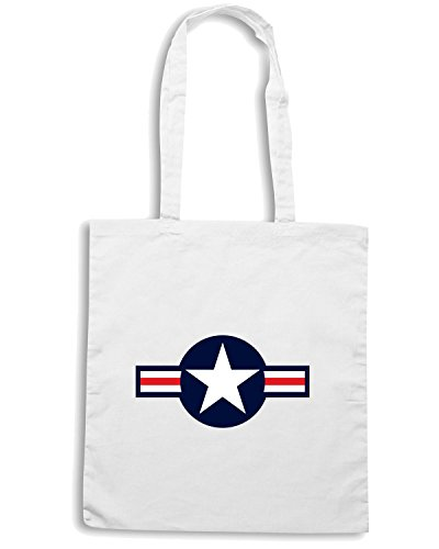 T-Shirtshock - Borsa Shopping T0029 US ARMY militari Bianco