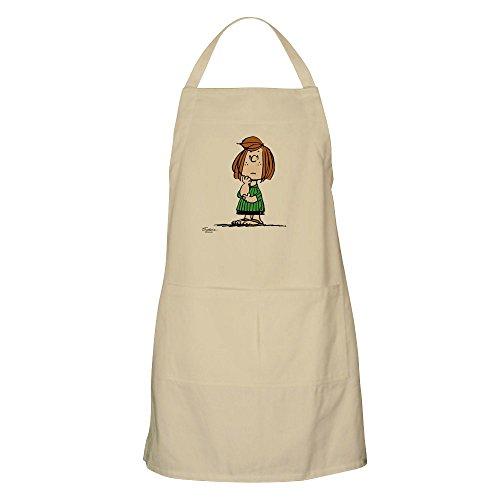 CafePress–Peanuts Snoopy Peppermint Patty Schürze–Küche Schürze mit Taschen, Grillen Schürze, Backen Schürze khaki Peanuts Snoopy Vintage
