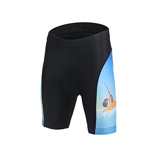 LSERVER Enfant Pantalons de Cyclisme Short Cuissard,...