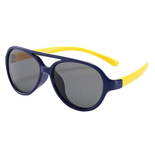 Koojawind Kleinkind Baby Kinder Jungen MäDchen Tpee Anti-Uv Flexible Elastische Polarisierte Sonnenbrille, Mode Niedlichen Kinder Brille FüR Outdoor Sport Reise Strand