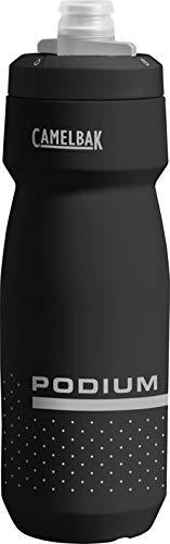 CamelBak Unisex- Erwachsene Podium Wasserflasche, 001 Black/Grey, 710 ml