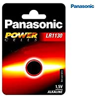 Panasonic LR1130 Coin Battery - LR1130 battery:Camera/watch-alkaline LR54.189 1.5V 44MAH 3.1 x 11.6 mm Weigh 1.2G (Button battery)