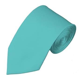 Cravate mince de 7 cm à couleur unie. Produit offert par NYfashion101