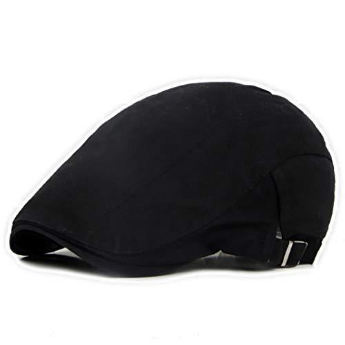 are Baskenmütze Kappen im Freien Sonne atmungsaktive Krempe Hüte Womens Mens Herringbone Flat Berets Cap ()