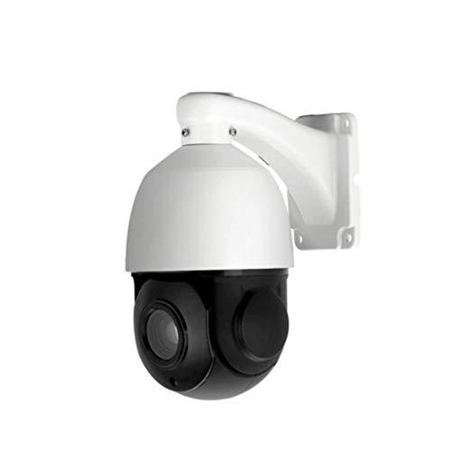 WLAN IP Kamera Outdoor Indoor-Überwachung HD 1080P,5MP H.265 PTZ IP-Sicherheitskuppel Wifi-Kamera mit 30-fachem optischem Zoom, Schwenk- / Neigefunktion und wasserdichtem IR-Cut-Nachtsichtgerät (A)