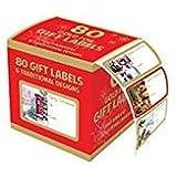 Tallon Christmas Collection Gold Foil Adhesive Etiquette (Lot de 100)