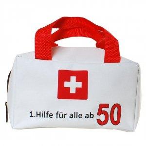 """Tasche """"1. Hilfe für alle ab 50"""" ungefüllt"""