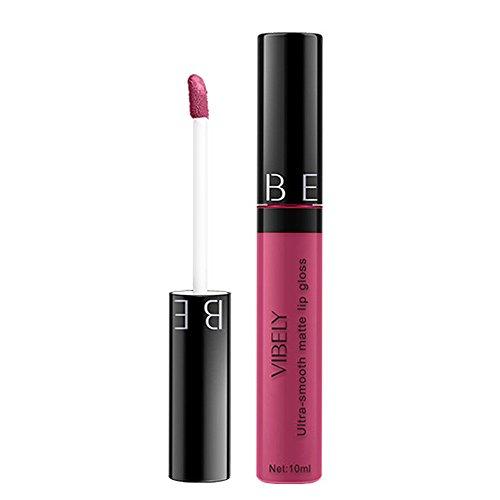BHYDRY Frauen-Mode-Matte-weiche feuchtigkeitsspendende langlebige Lippenglasur