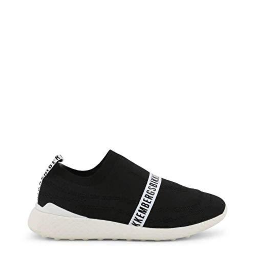 Bikkembergs Scarpe Basse Sneakers Uomo Nero (STRIK-ER_2106)